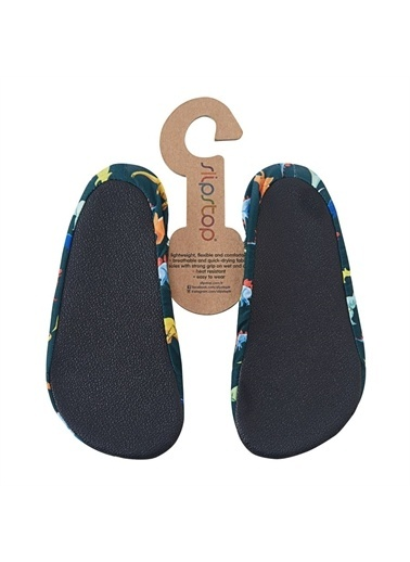 Slipstop Dino Çocuk Kaydırmaz Ayakkabı - Patik Ss17120123 Renkli